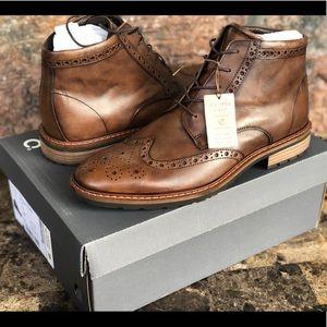 NEW Ecco Men's Vitrus I Wingtip Full-Brogue Boots